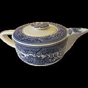 Blue Willow Royal China Teapot