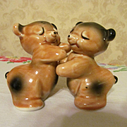 Van Tellingen Bear Salt Pepper Shakers