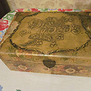 Victorian Celluloid Photo Box
