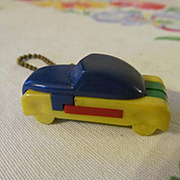 Car Automobile Plastic Put Together Puzzle Keychain