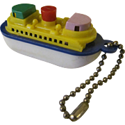 Ship Boat Plastic Put Together Pull Apart Puzzle Keychain