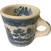 Blue Willow Thick Coffee Mug, Japan + 5 More