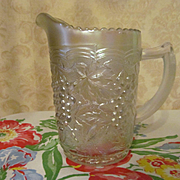 Imperial White Carnival Grape Pitcher