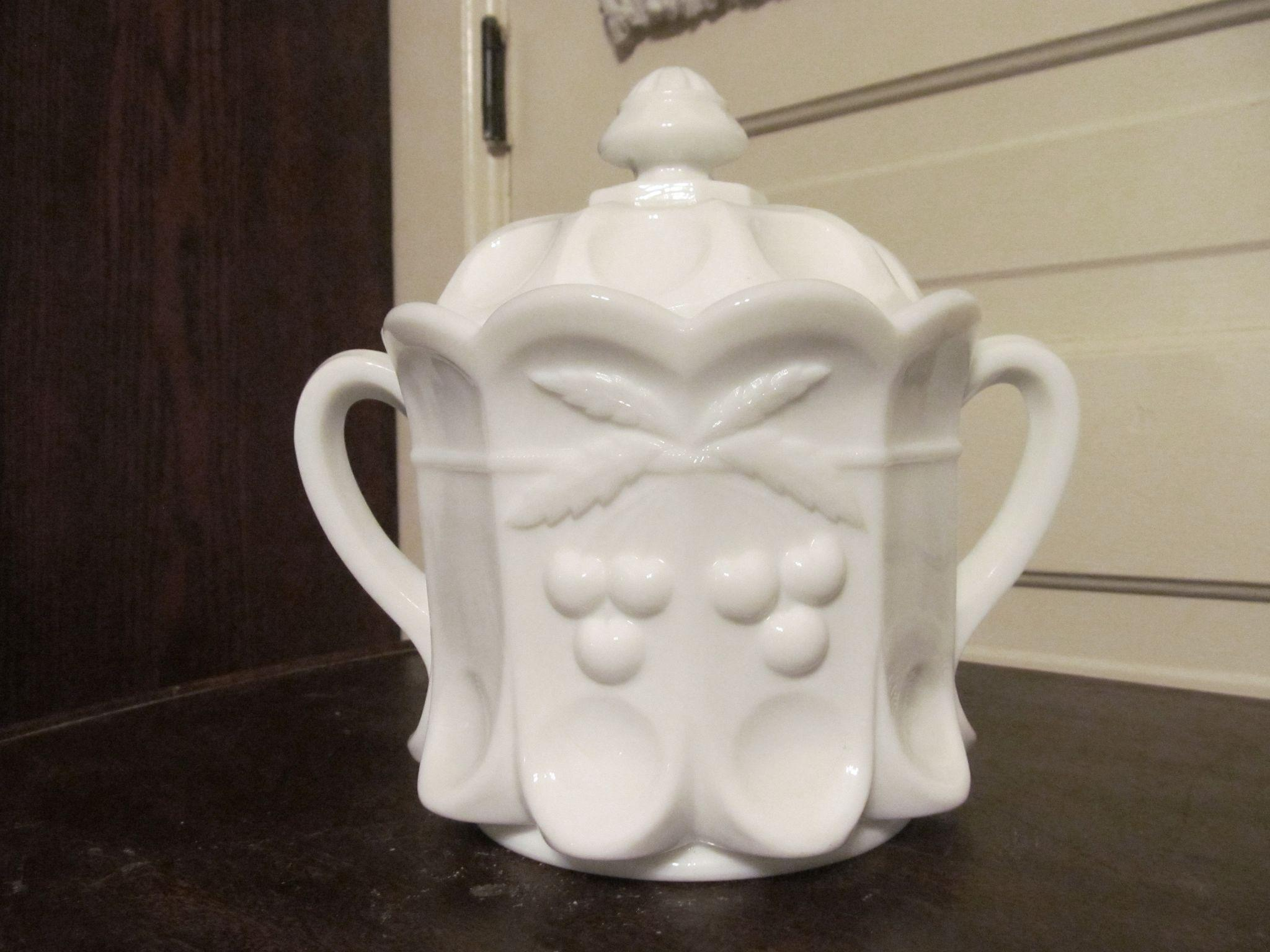 Westmoreland Cherry Cookie Cracker Jar