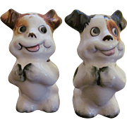 Comical Dogs Salt and Pepper Shakers