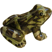 McCoy Pottery Garden Frog