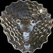 "American Fostoria Tricorner Footed 11"" Bowl"