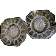 Columbia Federal Five Luncheon Dinner Plates and Three Soup Bowls