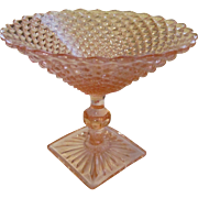 Pink Miss America Compote by Anchor Hocking