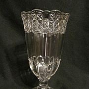 EAPG Cottage Celery Vase by Adams Glass Co