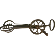Holts Cast Iron Hand Egg Beater, Dated 1899-1900