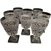 Eight Imperial Cape Cod Goblets