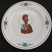 Hotel Blackhawk Davenport IA Restaurant Dinner Plate, Syracuse China
