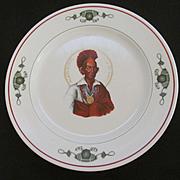 Hotel Blackhawk Davenport IA Restaurant Dinner Plate, Syracuse China