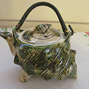 McCoy Pottery Small Shell Teapot