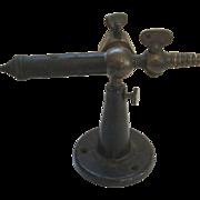 Brass and Cast Iron Lab Bunsen Burner