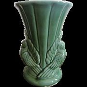 "Shawnee Green Dove 9"" Vase #329"