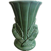 "Shawnee Green Dove 9"" Vase #329"