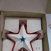 Noma Illuminated Christmas Tree Topper Star with Box