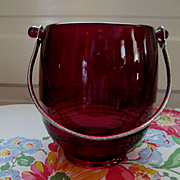 Cambridge Carmen Ruby Tally Ho Ice Bucket