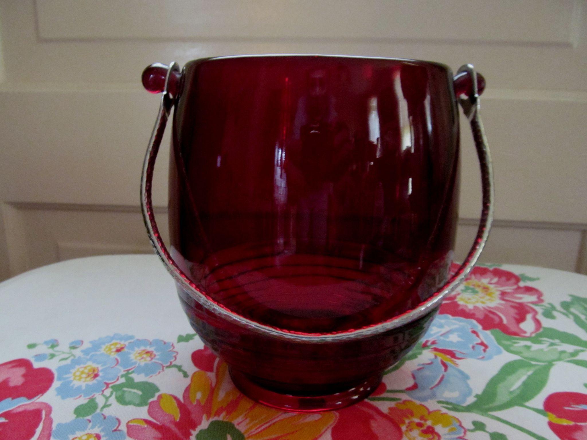 Cambridge Carmen Ruby Tally Ho Ice Bucket