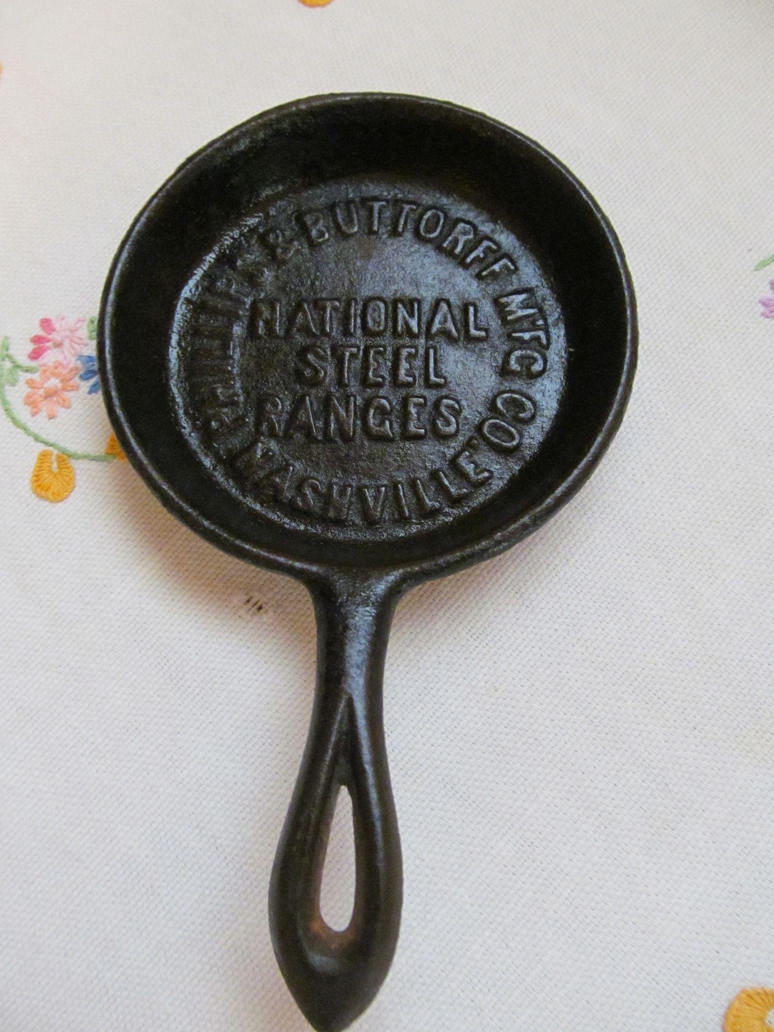Advertising National Steel Ranges Enterprise Stores Cast Iron Skillet