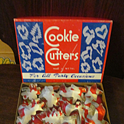 Metal Figural Cookie Cutters with Box