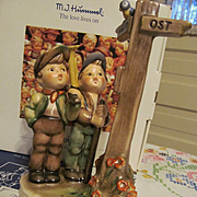 "Hummel Goebel 6 1/2""  Crossroads Figurine #331 with Box & Paperwork"