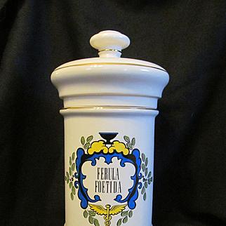 Large Apothecary Herbal Jar