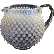 Fenton French Opalescent Hobnail Jug Pitcher