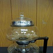 Sunbeam Glass Stove Top Vacuum Coffee Pot