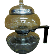 Sunbeam Glass Stove Top Vacuum Coffee Pot