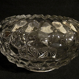 Large American Cupped Rose Bowl