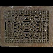 Cast Iron Decorative Floor Register without grate