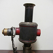 Early German Wiener Flachbrenner Magic Lantern Kerosene Projector