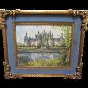 Lucien Delarue Original Watercolor Painting