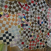 48 Hand Stitched Quilt Pieces