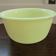 Hamilton Beach Yellow Custard Mixing Beater Bowl