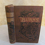1800's Burns Poems, Published by Belford Clarke & Co