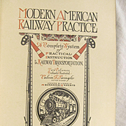 1913 Modern American Railway Practice Volume Ten, Full Descriptions of the Latest Devices on Steam & Electric Locomotives by Sidney Aylmer-Small