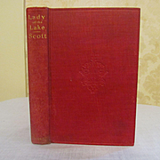 The Lady of the Lake by Sir Walter Scott, A Centennial Offering 1876, Publ by Henry T Coates & Co