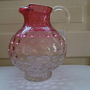 Rubina Inverted Thumbprint Pitcher