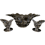 Duncan Miller Sylvan Bowl and Candle Holders