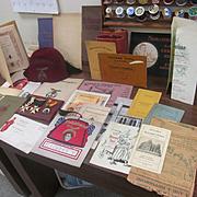 Early 1900's Shriners Masonic Memorabilia