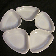 Anchor Hocking 5pc Relish Condiment Tray Insert bowls