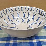 """Eva Zeisel Monmouth Western Stoneware 11""""  Bowl"""