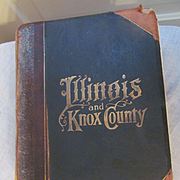 1899 Historical Encyclopedia of Illinois and Knox County, Illustrated