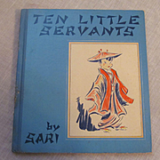 1939 Ten Little Servants by Sari, Grosset & Dunlap