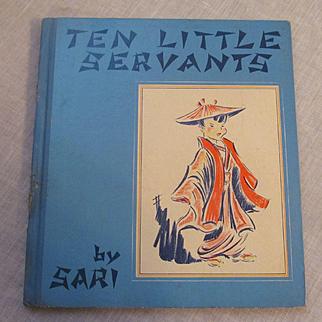 1939 Ten Little Servants by Sari, Grosset & Dunlap