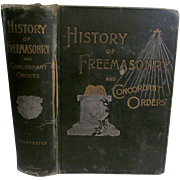 1892 History of the Ancient and Honorable Fraternity of Free and Accepted Masons, Stillson and Hughan